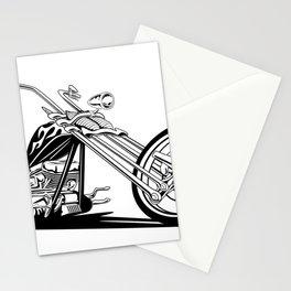 Custom American Chopper Motorcycle Stationery Cards