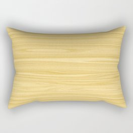 Ash Wood Texture Rectangular Pillow