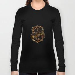 Hufflepuff Crest Long Sleeve T-shirt