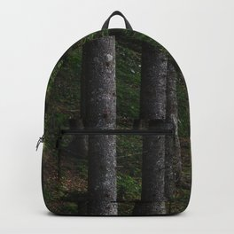 Trees and green moss Backpack
