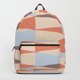 Zaha Blue Retro Backpack