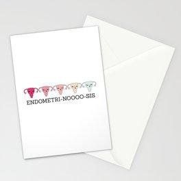 Endometri-no-sis Stationery Cards
