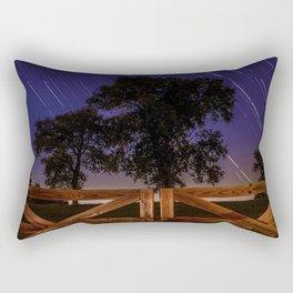 Meteor Shower on a Farm Rectangular Pillow