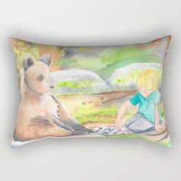 Mostly Wild Rectangular Pillow