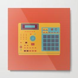 World of Stereo: Akai MPC 2000XL Metal Print