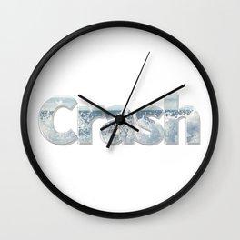 Crash Wall Clock