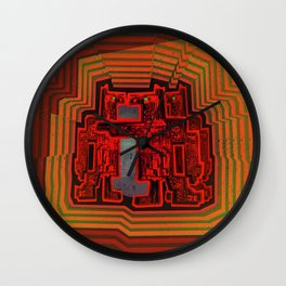 Three's a Crowd / Robotics Wall Clock