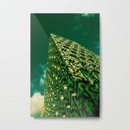Green Scraper  Metal Print