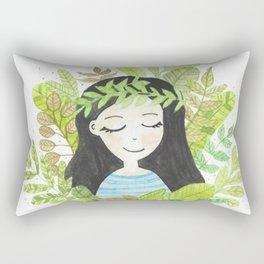 Astilbe - Dreamy girl Rectangular Pillow