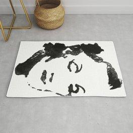 Marlene Dietrich portrait Rug