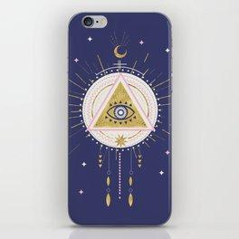 Magical night tarot illustration no5 iPhone Skin