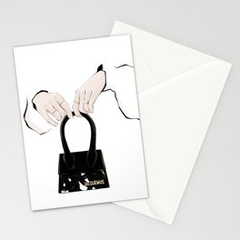 Hands | Fashion line-art Stationery Cards