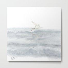 Waves & Wings 1 Metal Print