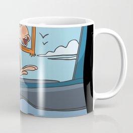 Halloween monkey pilot Coffee Mug