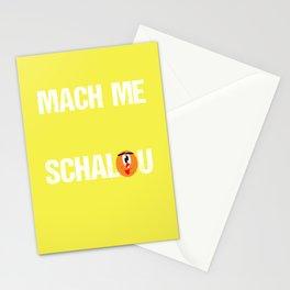 Lustiger Schwaben Spruch - witzig - Mach me net Stationery Cards