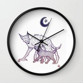 Remus & Sirius Wall Clock