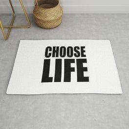 Choose Life Rug