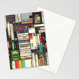 Cassettes, VHS & Games Stationery Cards
