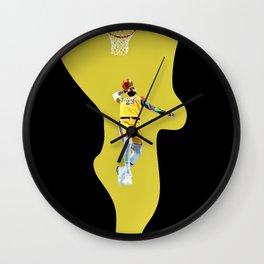 Lebron Lebron Lebron Wall Clock