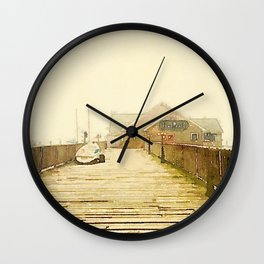 The Pearl; Rockland, Maine Wall Clock