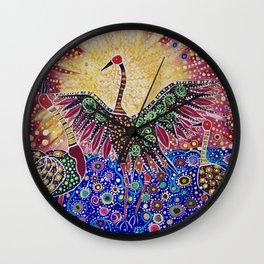 Burralga Brogla Wall Clock