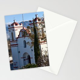 Historic Church Guadalupe Etla, Mexico Stationery Cards