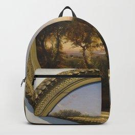 Jasper Francis Cropsey - Green Mountain Scenery Backpack