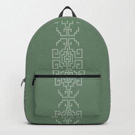 Tribal Native Indian Geometric Pattern Backpack