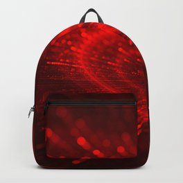 Cupid's Arrows | Valentines Day | Love Red Black Heart Texture Pattern Backpack