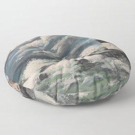 Rough Waters Floor Pillow