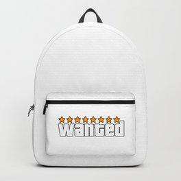 Wanted. Gta. Backpack