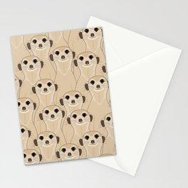 Meerkats Kalahari Desert Stationery Cards