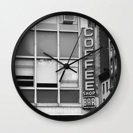 New York Coffee Shop Wall Clock