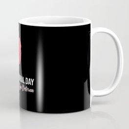 Memorial Day Veterans Day Pride USA Poppy Poppy Coffee Mug