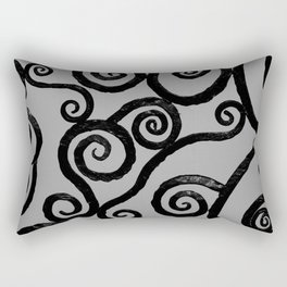 Spirals - pieces of Dublin Rectangular Pillow