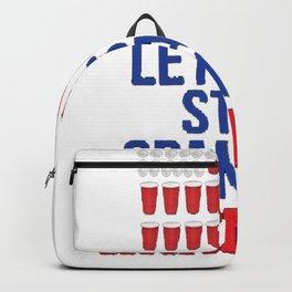 Let's Get Star Spangled Hammered Fourth of July Shirt Backpack