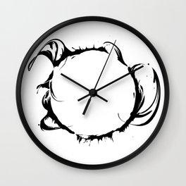 Solar Storm // SUN Wall Clock
