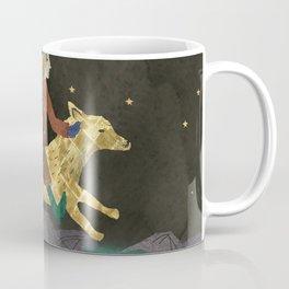 Moon and Witch Coffee Mug