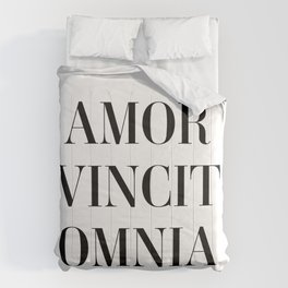 Amor vincit omnia - Love conquers all Comforters