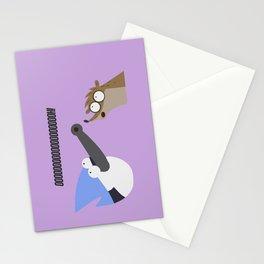 regular show Stationery Cards