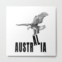 Austria Australia Confusion With Eagles Metal Print
