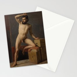 Gustav Klimt - Male Nude Stationery Cards