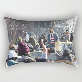The Parade for the 2018 Super Bowl Champs - Eagles Rectangular Pillow
