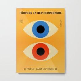 Eyes | Bauhaus III Metal Print