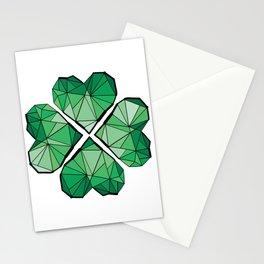 Geometrick lucky charm Stationery Cards