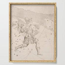 Johann Bayer - Uranometria / Measuring the Heavens (1661) - 04 Cepheus Serving Tray