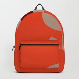 Seventies style flower Backpack
