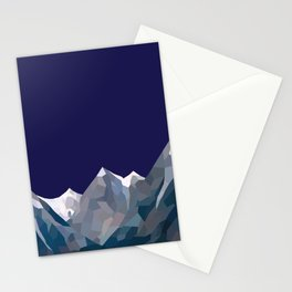 Geo Mountain Range (Part 5) Stationery Cards