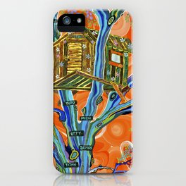 """The Family Treehouse"" by ICA PAVON iPhone Case"
