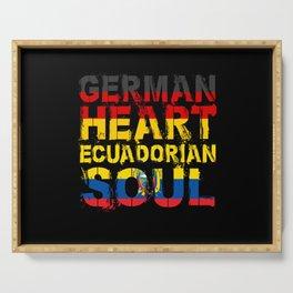 Ecuador Gift Serving Tray